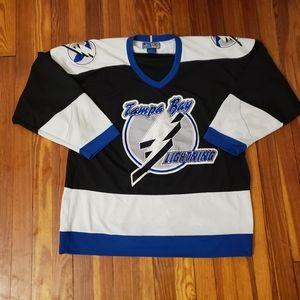 NHL Starter Tampa Bay Lightening Vintage Jersey La